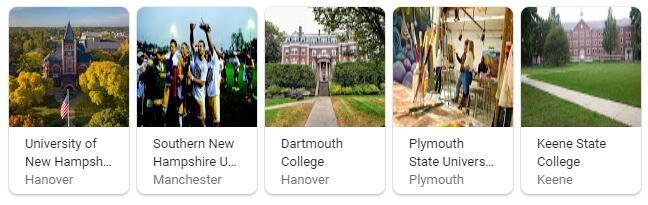 Top Universities in New Hampshire