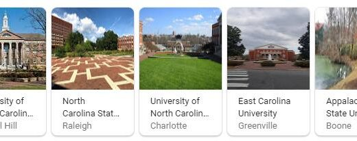 Top Universities in North Carolina