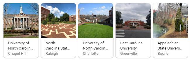 Top Universities in North Carolina