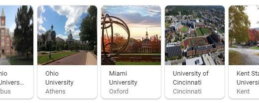 Top Universities in Ohio