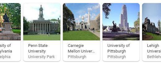 Top Universities in Pennsylvania
