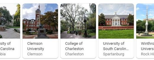 Top Universities in South Carolina