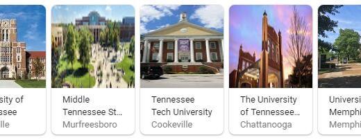 Top Universities in Tennessee