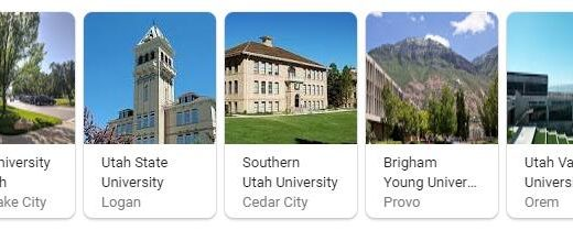 Top Universities in Utah