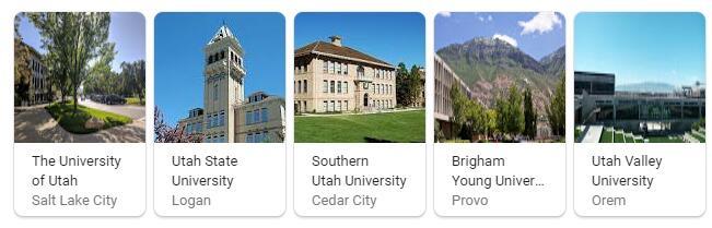 Top Universities in Utah
