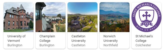 Top Universities in Vermont