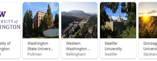 Top Universities in Washington