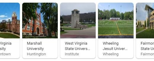 Top Universities in West Virginia
