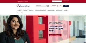 University of Arizona (Eller) Part Time MBA