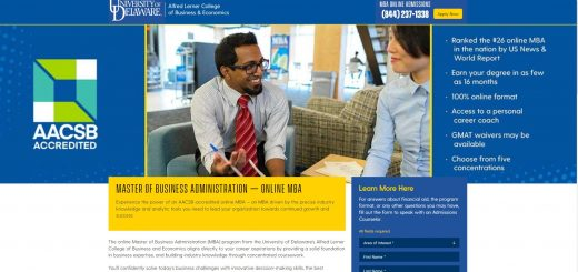 University of Delaware (Lerner) Part Time MBA