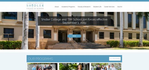 University of Hawaii--Manoa (Shidler) Part Time MBA