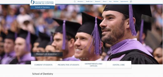 University of Mississippi Medical Center School of Dentistry