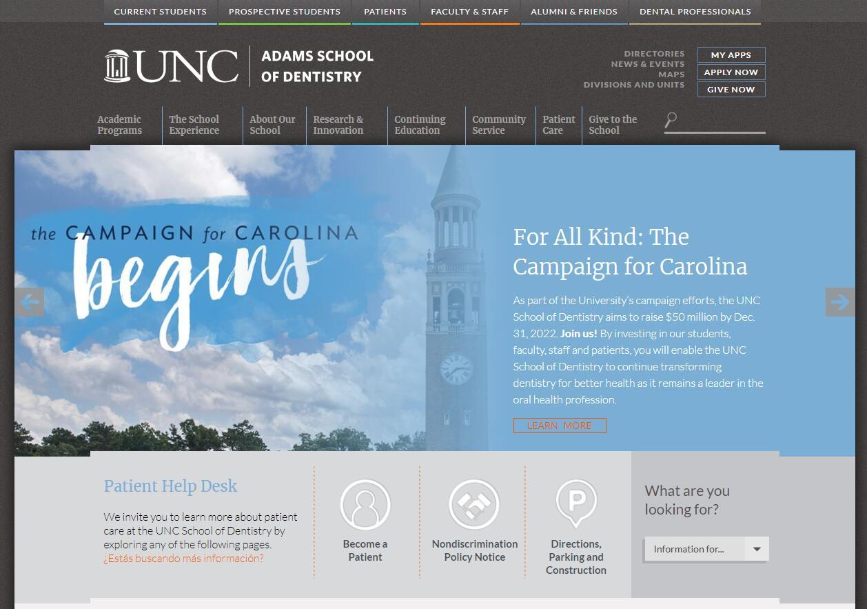 University of North Carolina School of Dentistry