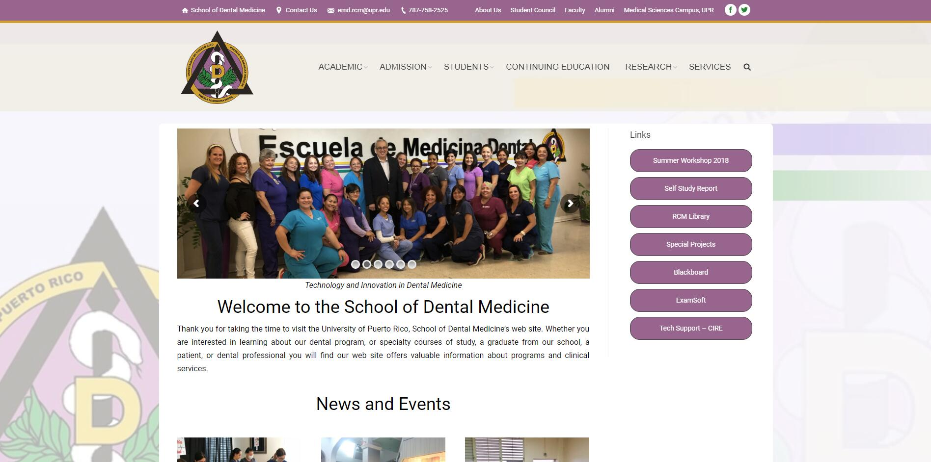 University of Puerto Rico School of Dentistry