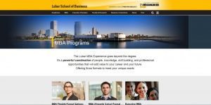 University of Wisconsin--Milwaukee (Lubar) Part Time MBA