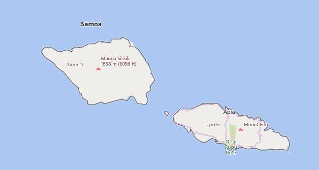 High School CEEB Codes in Samoa