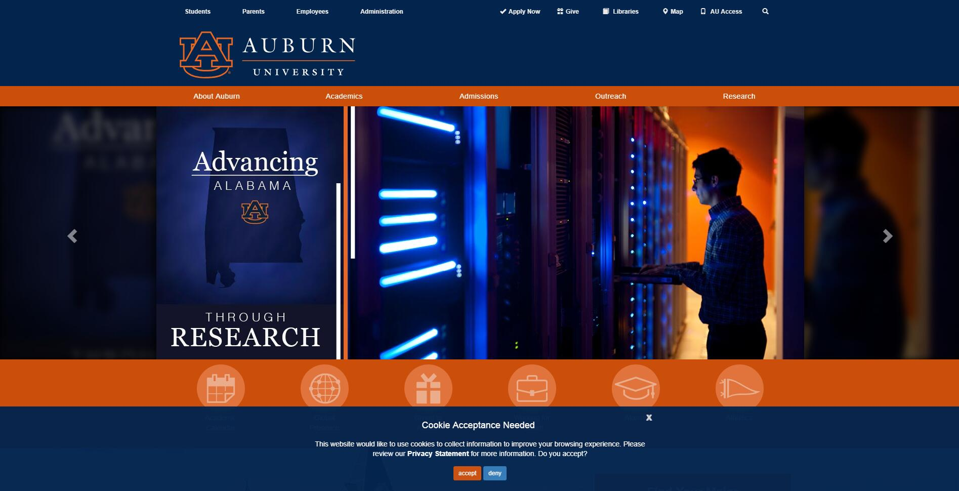 Auburn University Acceptance Rate, Average GPA, SAT and ACT