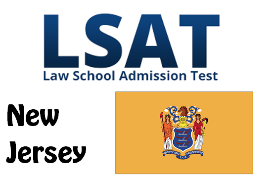 LSAT Test Dates and Centers in New Jersey