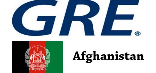 GRE Test Centers in Afghanistan