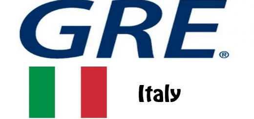 GRE Test Centers in Italy