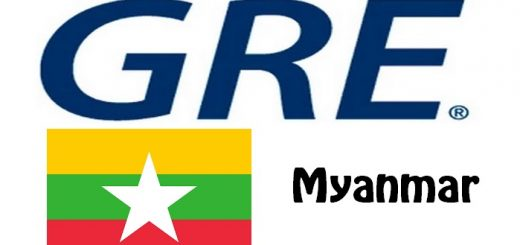 GRE Test Centers in Myanmar