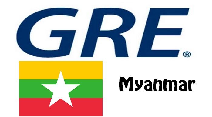 GRE Test Centers in Myanmar