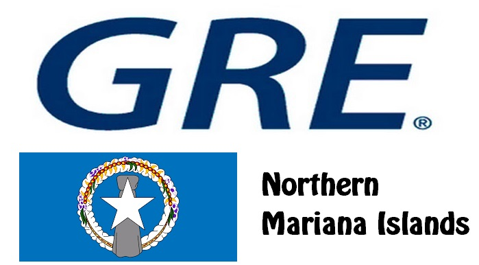 GRE Test Centers in Northern Mariana Islands