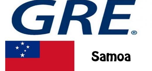 GRE Test Centers in Samoa