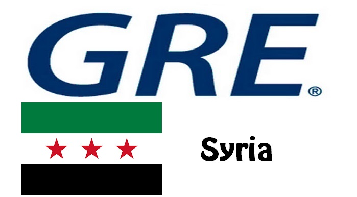 GRE Test Centers in Syria