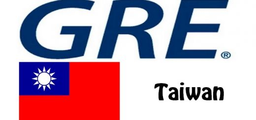 GRE Test Centers in Taiwan