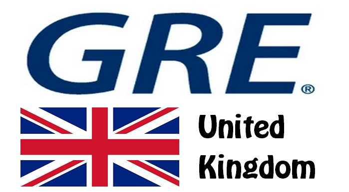 GRE Test Centers in United Kingdom