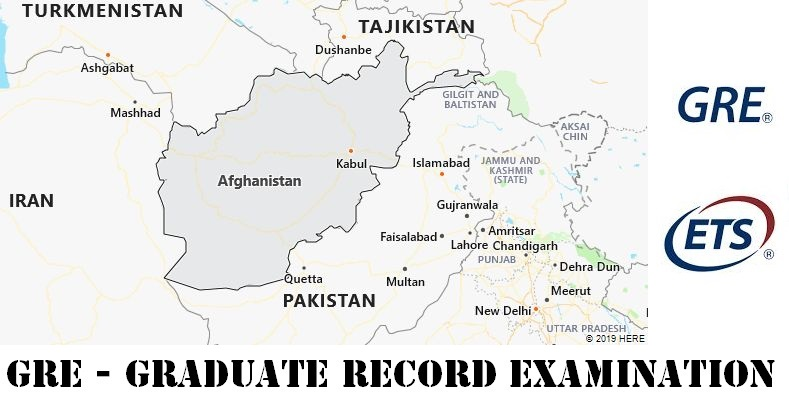GRE Testing Locations in Afghanistan