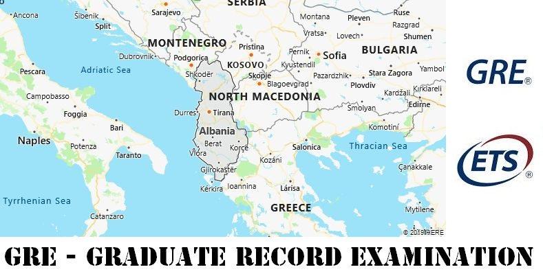 GRE Testing Locations in Albania