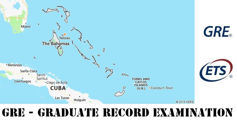 GRE Testing Locations in Bahamas