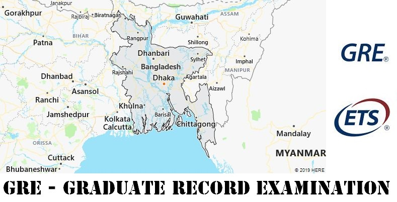 GRE Testing Locations in Bangladesh