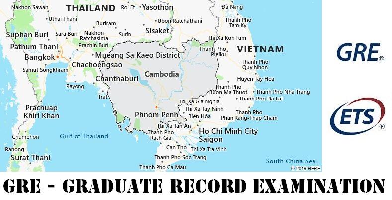 GRE Testing Locations in Cambodia