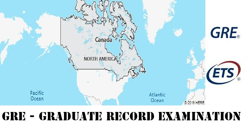 GRE Testing Locations in Canada
