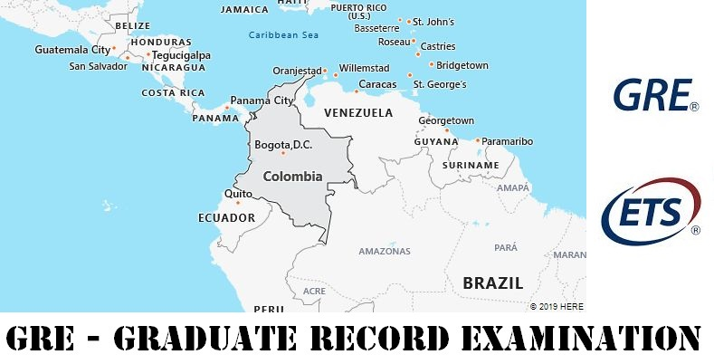 GRE Testing Locations in Colombia