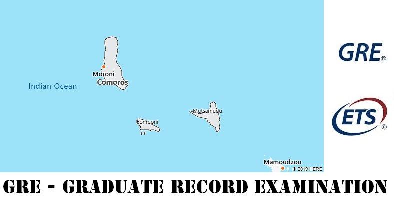 GRE Testing Locations in Comoros