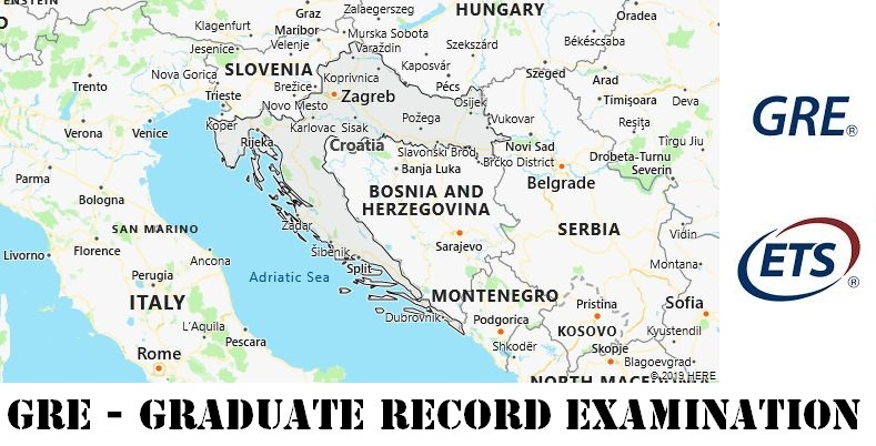 GRE Testing Locations in Croatia