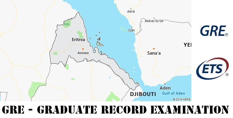GRE Testing Locations in Eritrea