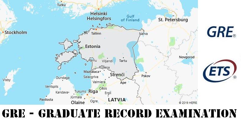 GRE Testing Locations in Estonia