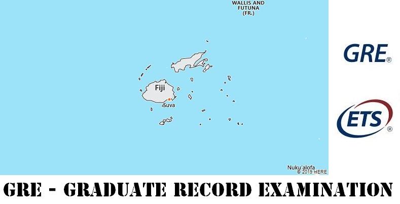 GRE Testing Locations in Fiji