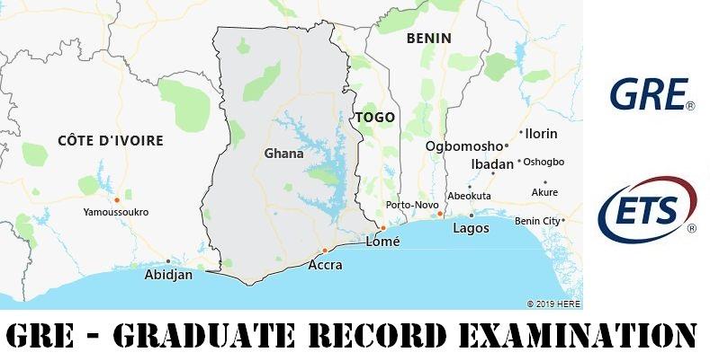 GRE Testing Locations in Ghana