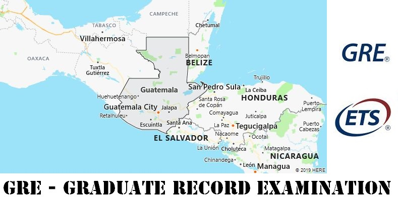GRE Testing Locations in Guatemala