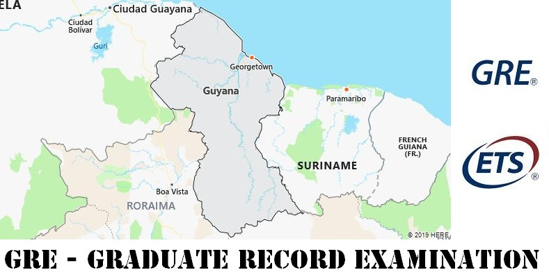 GRE Testing Locations in Guyana