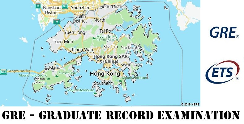 GRE Testing Locations in Hong Kong