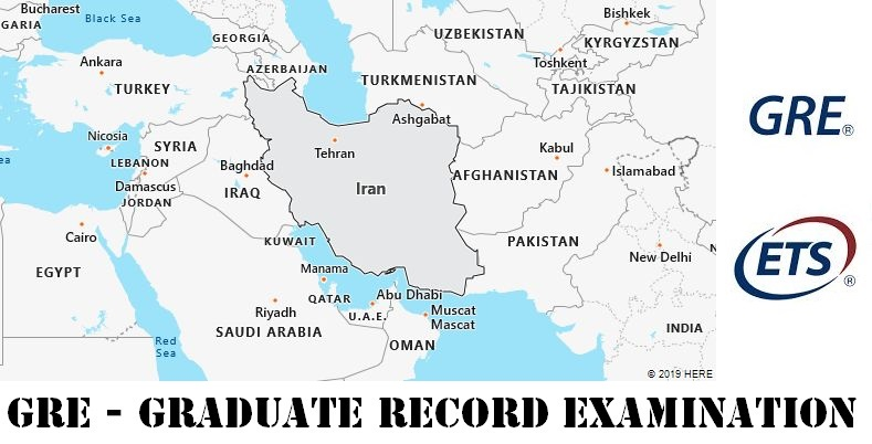 GRE Testing Locations in Iran