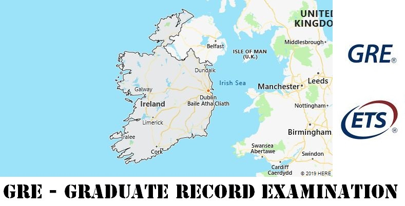 GRE Testing Locations in Ireland