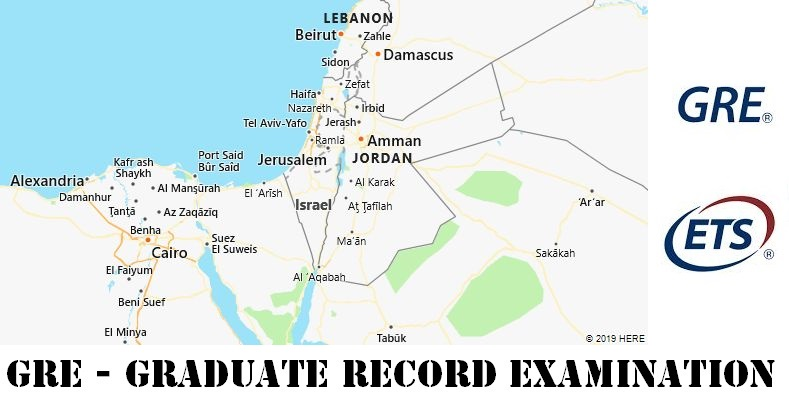 GRE Testing Locations in Israel